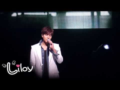 20140329 Lee Min Ho My Everything Encore Concert in Japan-Painful love