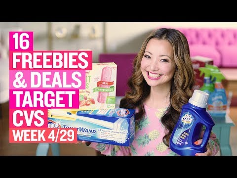 ★ 4 FREEBIES - 16 Target & CVS Coupon DEALS (Week 4/29 – 5/5)