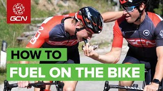 How & Why To Fuel On Your Road Bike