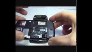 Samsung Omnia II 8000i 8GB  Disassembly Energizerx2