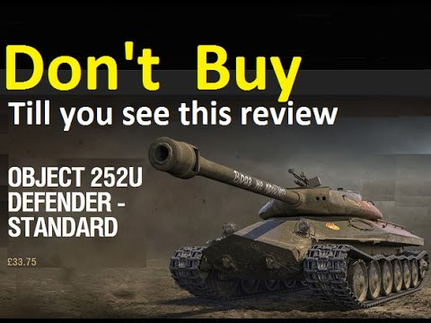 WOT Object 252U  Defender Review and Gameplay