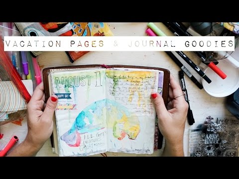 Vacation Pages & Journal Goodies