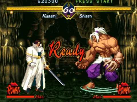 The Last Blade (Arcade/Neo Geo MVS) Playthrough as Kagami |