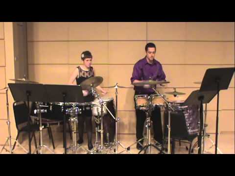 """""""Cohesion"""" Matt Moore: Performed by Joe Ganzelli and Alison Ely"""