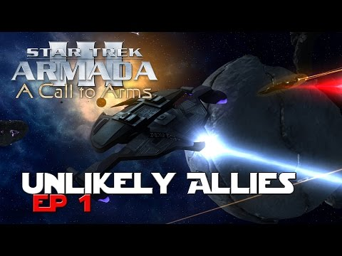 Star Trek Armada III Dominion War - Unlikely Allies Ep1 - Sins of a Solar Empire Mod