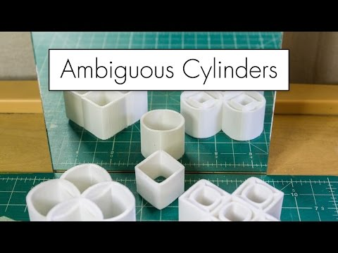 3D Printing Ambiguous Cylinders