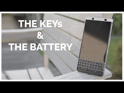 FIRST IMPRESSIONS WITH THE BlackBerry KEYone!