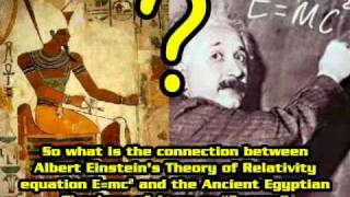 Albert Einstein, Egyptian Mysteries, and Relativity E=mc²