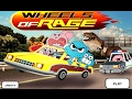 The Amazing World of Gumball - WHEELS of RAGE (Cartoon Network Games)