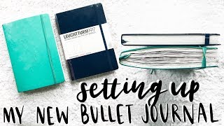 migrating into my new bullet journal