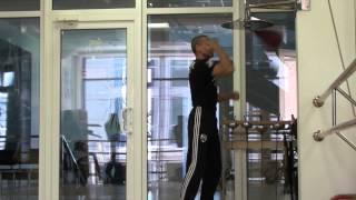 Пневмогруша (Speed Bag) удары ногами и руками
