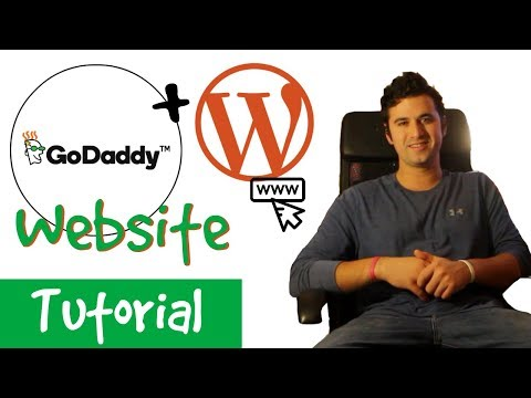 How To Make a WordPress Website with GoDaddy - UPDATED!