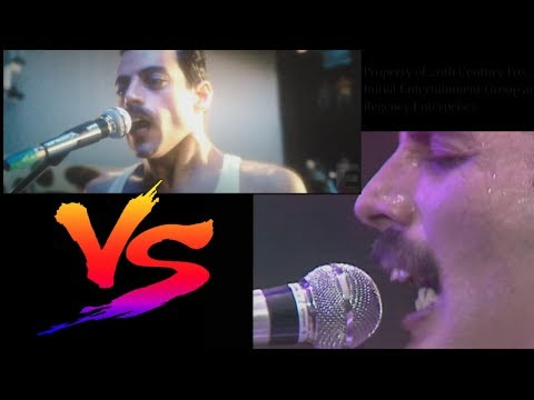 K.C. Wheeler - Movie vs Real Life - Live Aid Shot for Shot Remake
