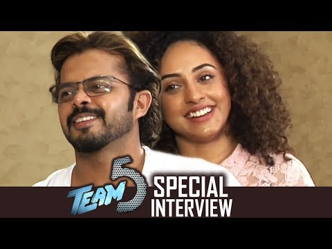 Sreesanth And Pearle Maaney Special Funny Interview About Team 5 Movie | TFPC