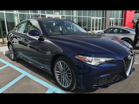 2017 Alfa Romeo Giulia Ti Lusso Q4|Walk-Around Video|In ...