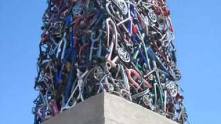 Cyckisk -- The Bicycle Obelisk Of Santa Rosa