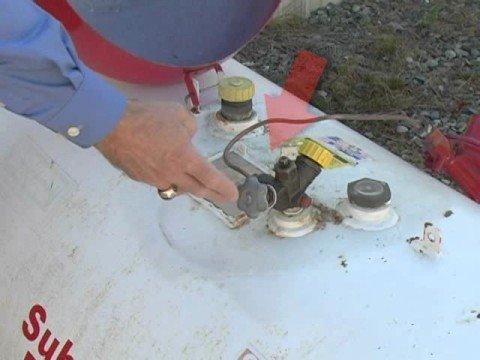 Turning Off Propane Gas