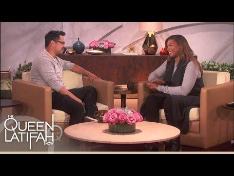 "Michael Peña Talks Getting Beat Up in ""Fury"" | The Queen Latifah Show"