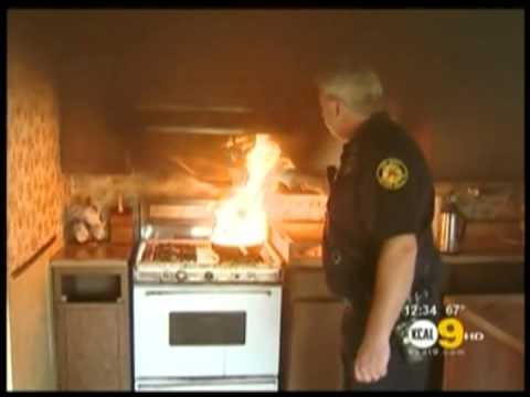StoveTop FireStop featured on KCALTV Los Angeles  YouTube