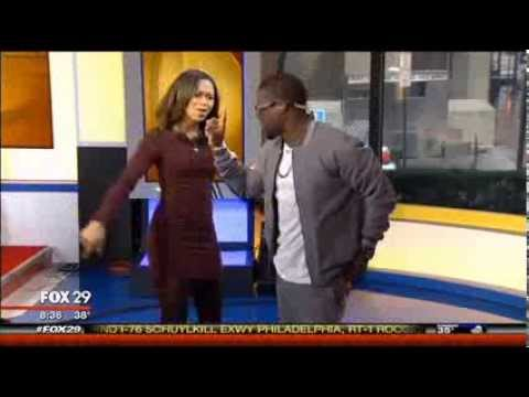 Kevin Hart Commercial >> TV Anchor Challenges Kevin Hart to Dance Battle - YouTube