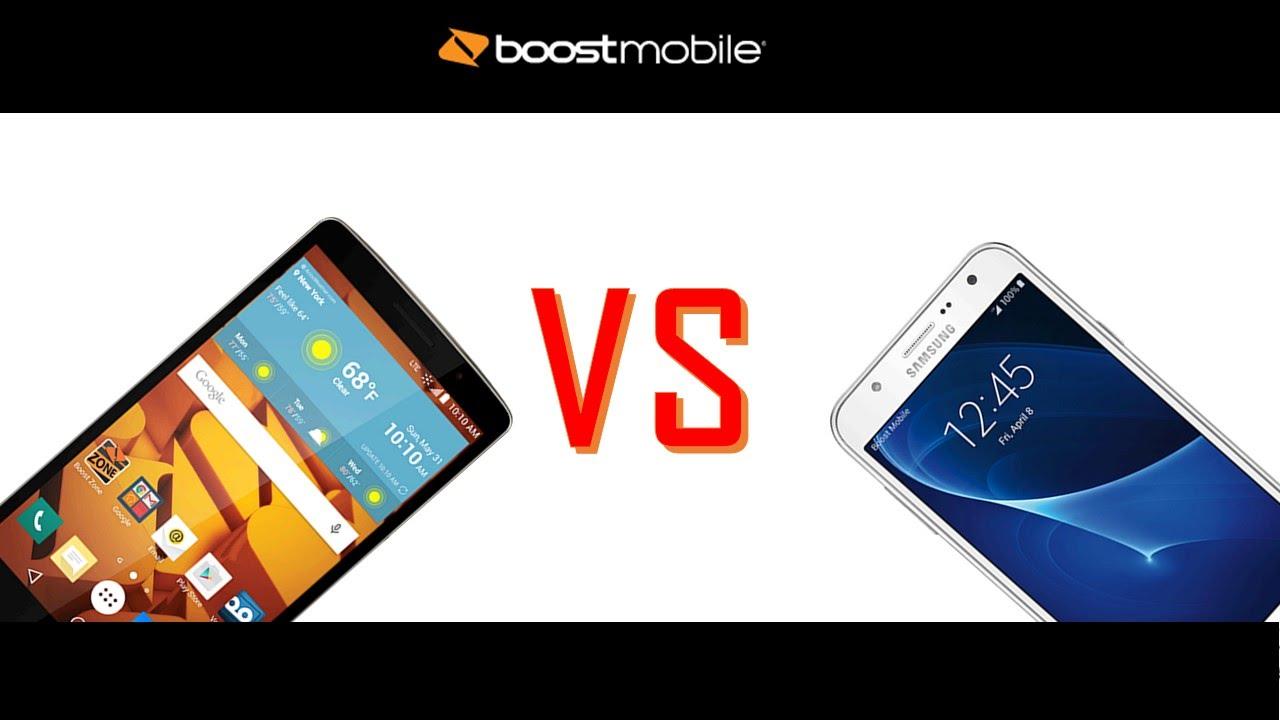 LG G Stylo VS Samsung galaxy J7 for boostmobile
