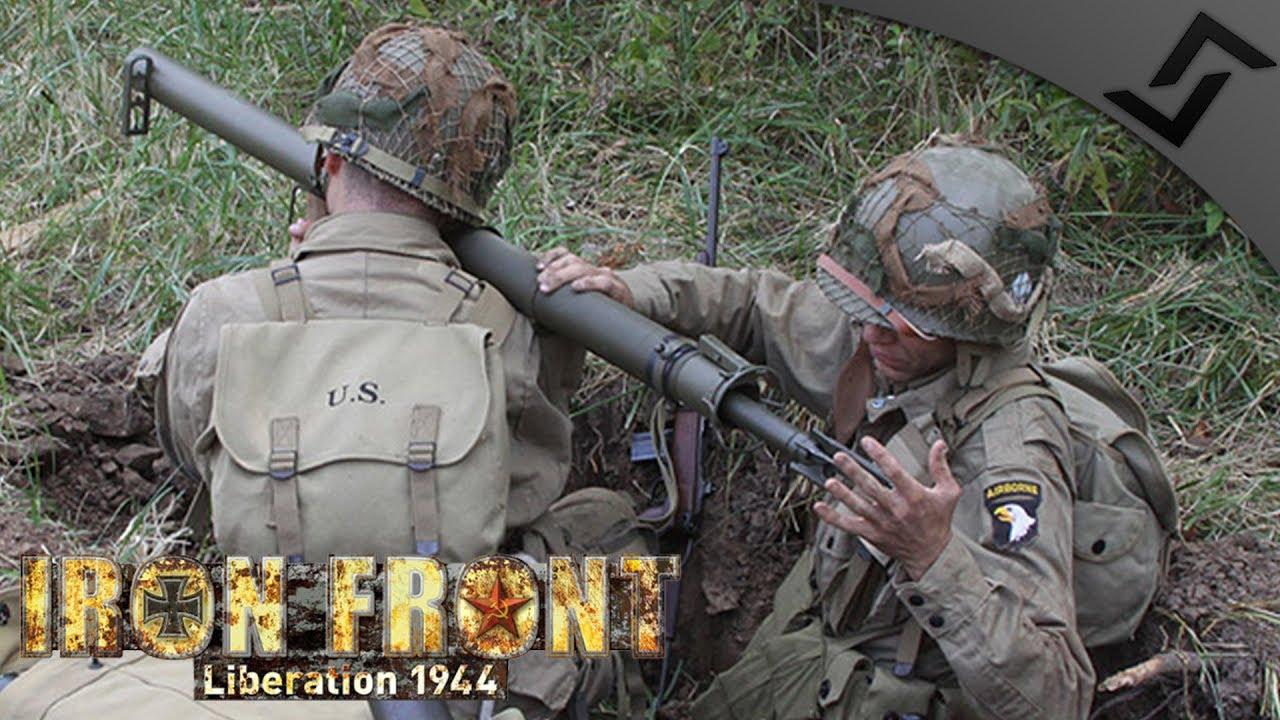Backblast clear?! Bazooka Fire! - ArmA 3 IFA WW2 Mod 1440p60 - Market  Garden 101st Airborne