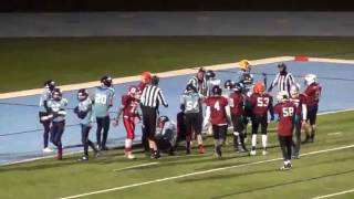 ayf east 14 vs west 0 jr midget all star game 11 21 2016