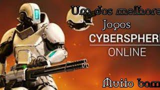 Um dos melhores jogos de tiro online leve para android.(Cybersphere online).