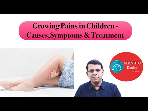 Signs and symptoms of accelerating Pains in Kids