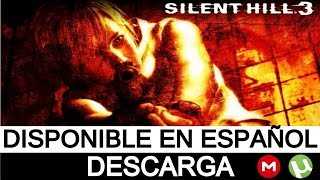 DESCARGAR SILENT HILL 3 | PC | FULL | ESPAÑOL | 1 LINK | MEGA | TORRENT | 2018