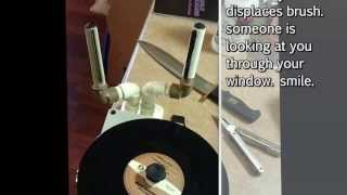 PHK Record Cleaning Machine Demo.  ENJOY. I Insist. Can you manage a smile before the light dies?