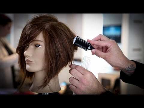 How To Cut A Stacked Bob Haircut Tutorial