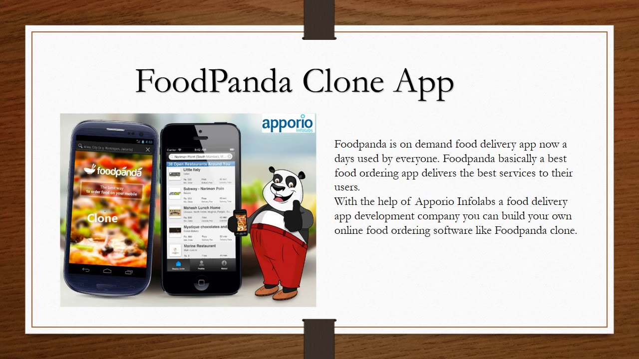 Build Your Own Food Delivery Apps like Ubereats Clone App, Foodpanda clone,  Just Eat clone,