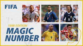 Batistuta Ronaldo Suker more No9s at France 1998 Magic Number