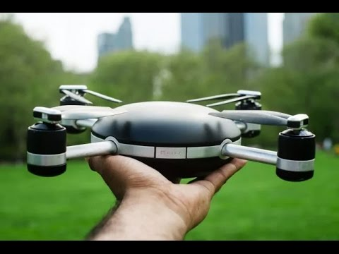 Throw This Drone Into The Sky & It Tracks You Wherever You Roam - Lily: The $499 'Selfie Drone'