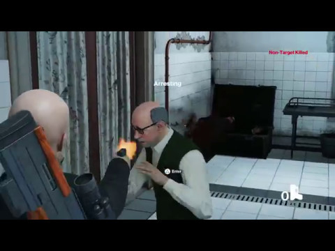 Hitman how to reload the 5mm pistol