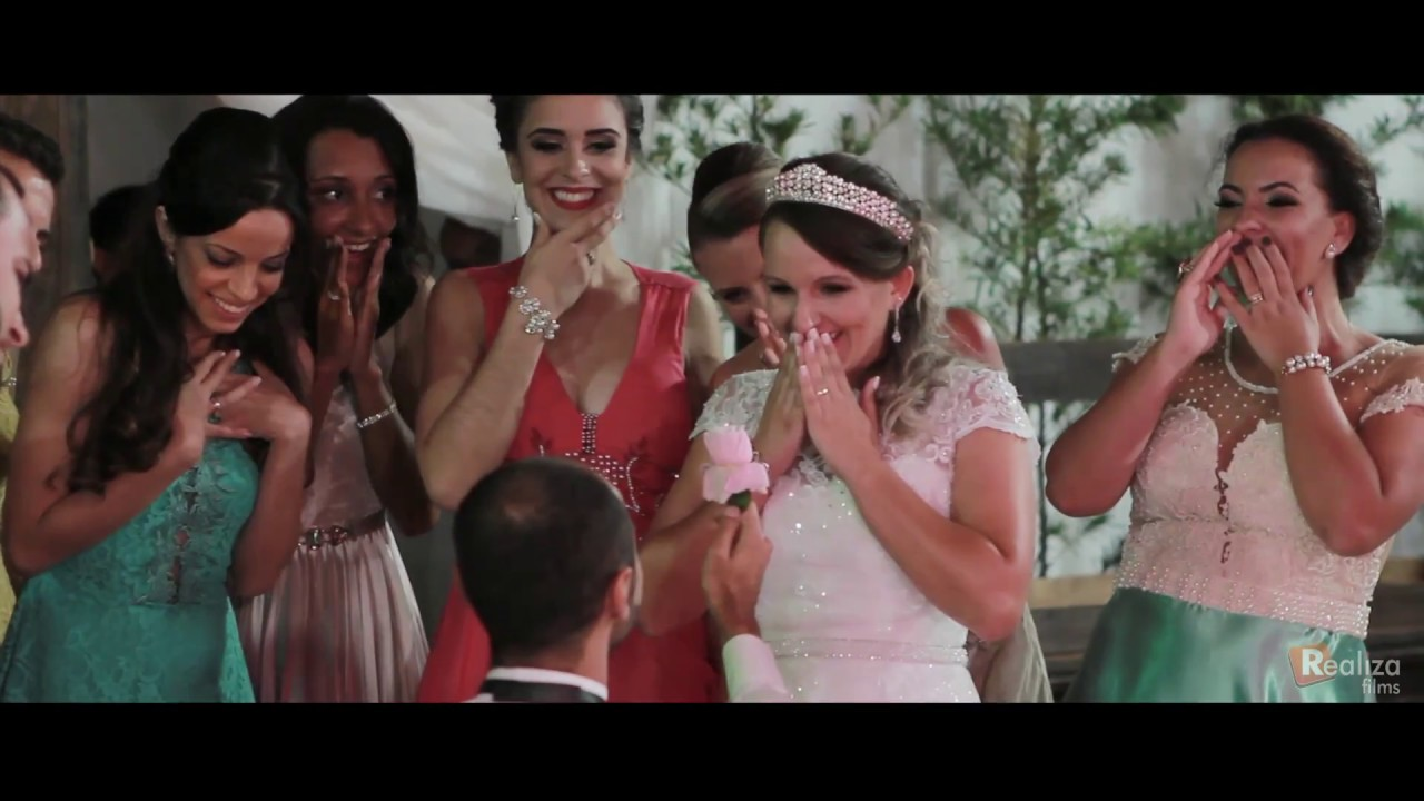 Dança dos noivos e  padrinhos - GOSPEL