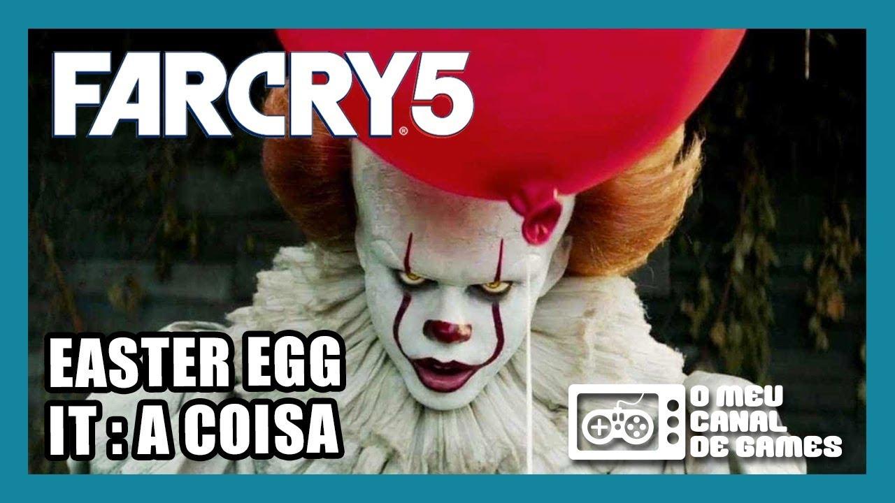 FAR CRY 5: Easter Egg IT: A COISA - COMPLETO (Casa Mal-Assombrada)