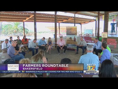 Local farmers gather for roundtable discussion on trade wars and exports