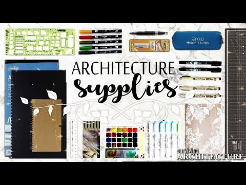 Architectural School Supplies Guide