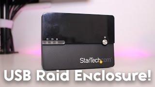 StarTech 2-Bay External RAID Enclosure Review [RAID 1, RAID 2 & JBOD!]