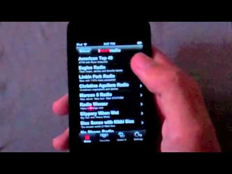 iHeartRadio iPod Touch/iPhone Review