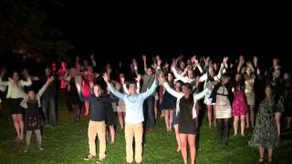 flashmob Eline en Mark