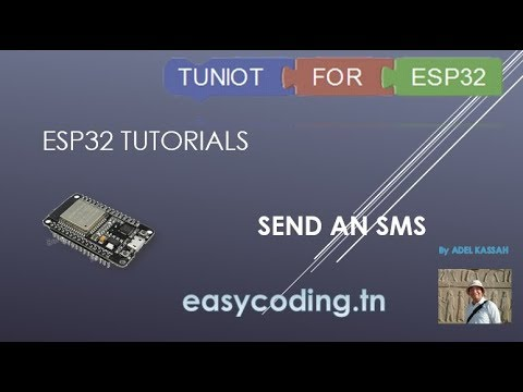 ESP32 tutorial : Send an SMS