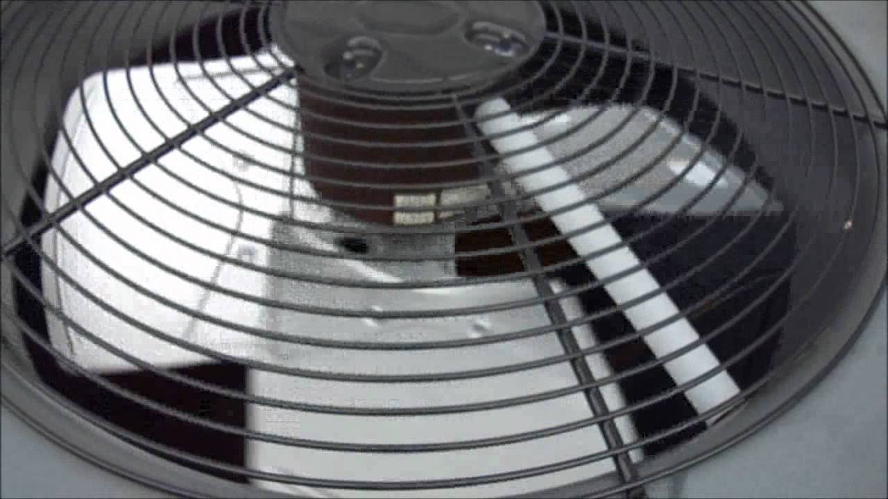 The Squeaky Condenser Fan Motor In The Goodman 720p Hd