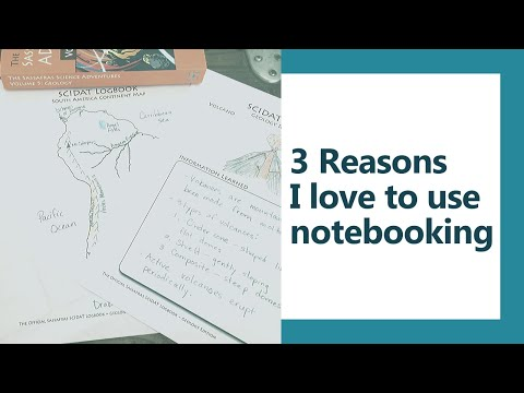 3 Reasons I love to use notebooking for science {Episode 14}
