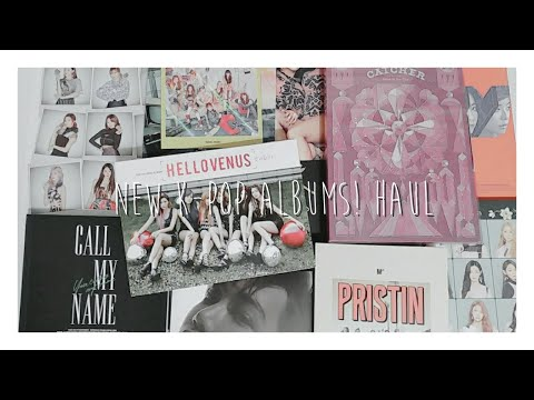 New K-Pop Albums / Haul De álbumes | With K Of Kari (en Español)