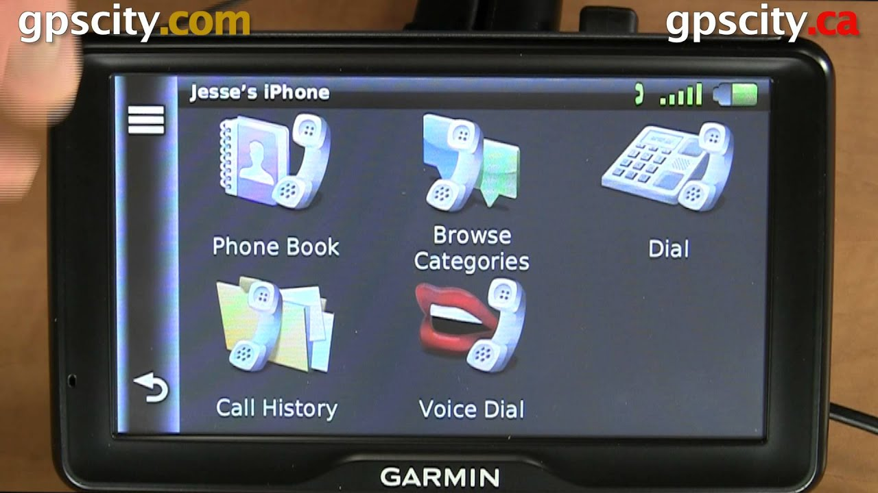 Garmin navi mit bluetooth
