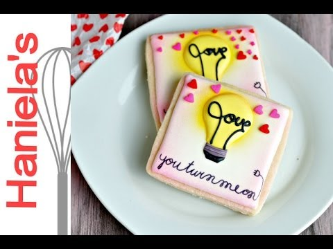You Turn Me On Valentine S Day Cookies Haniela S