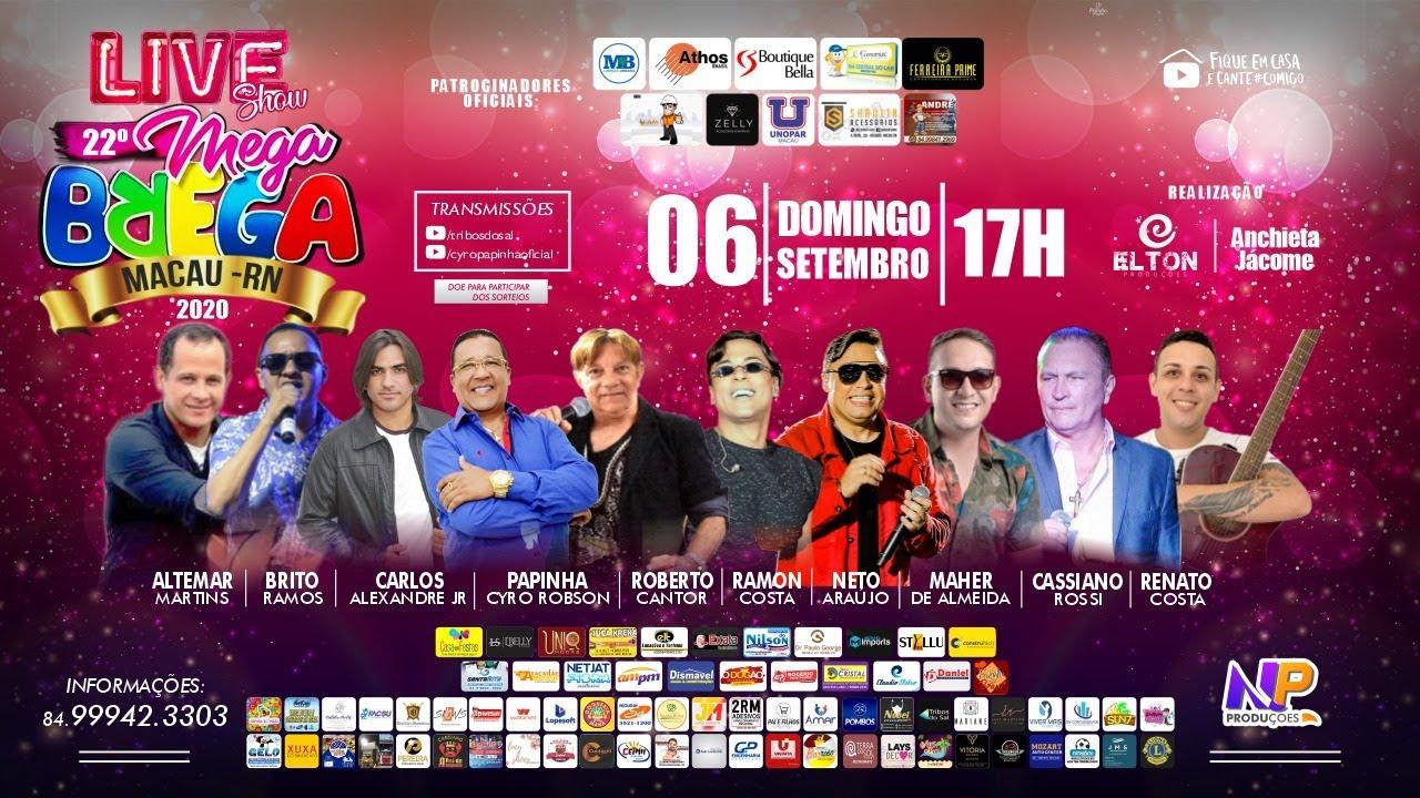 Live Show do 22º MEGA BREGA - Macau/RN